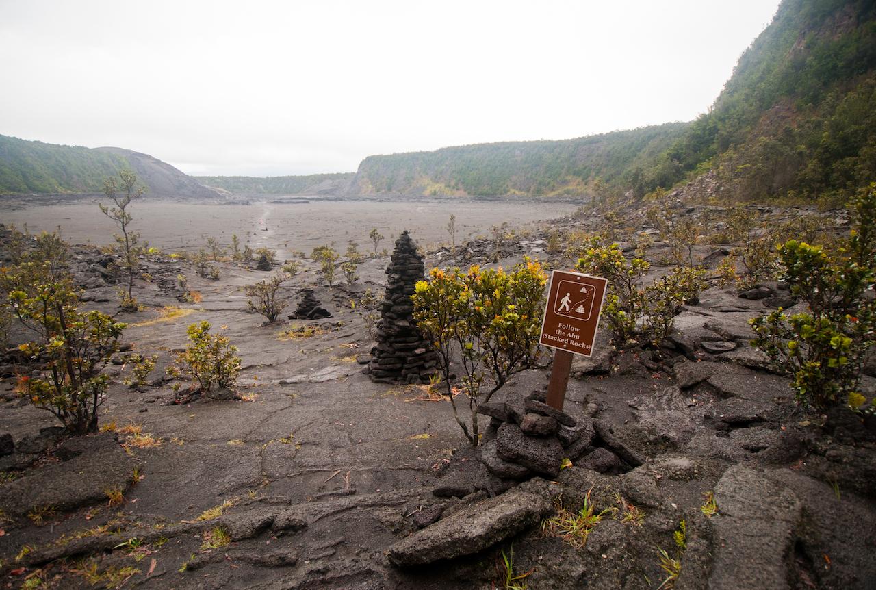 Kīlauea Iki crater // кратер Kīlauea Iki