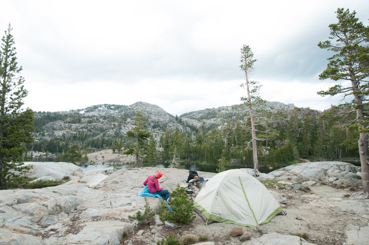 Lower Velma Lake in Desolation Wilderness