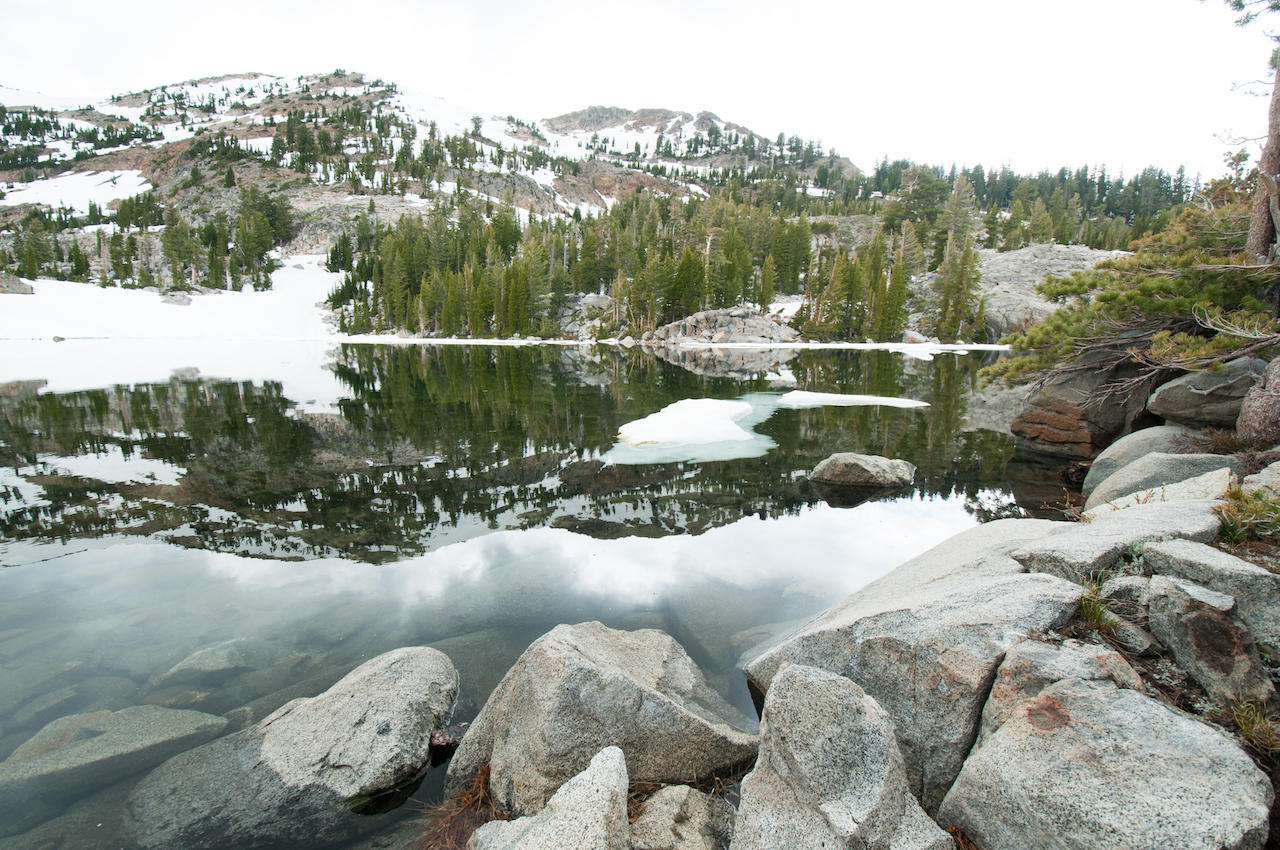 Fontanillis Lake in Desolation Wilderness