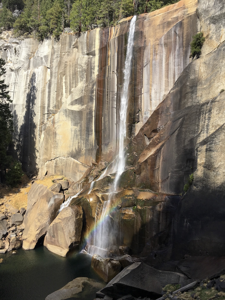 Vernal Fall in Yosemite