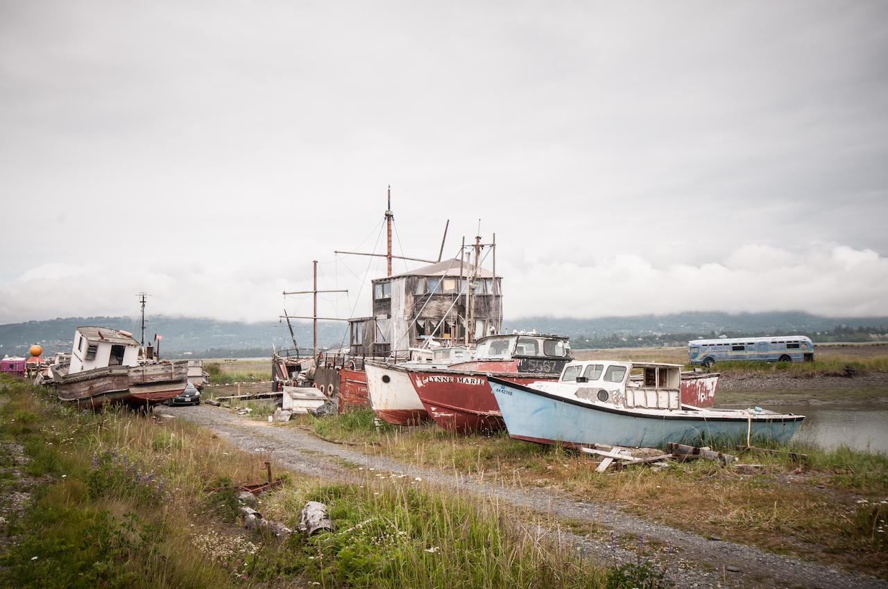 Кладбище кораблей. Хомер, Аляска