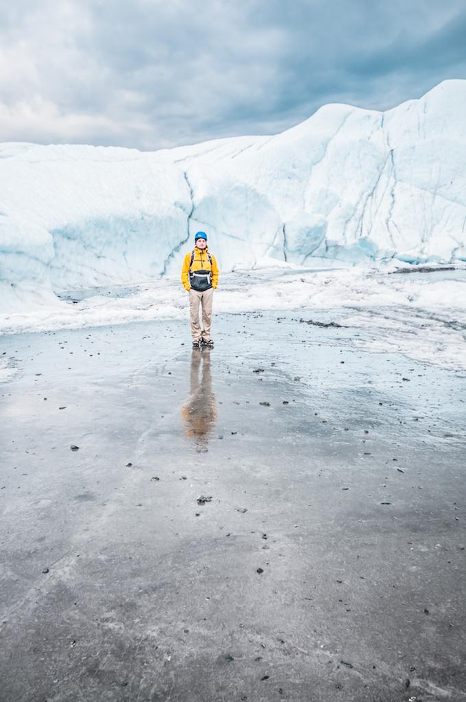 Тур по леднику Матануска, Аляска