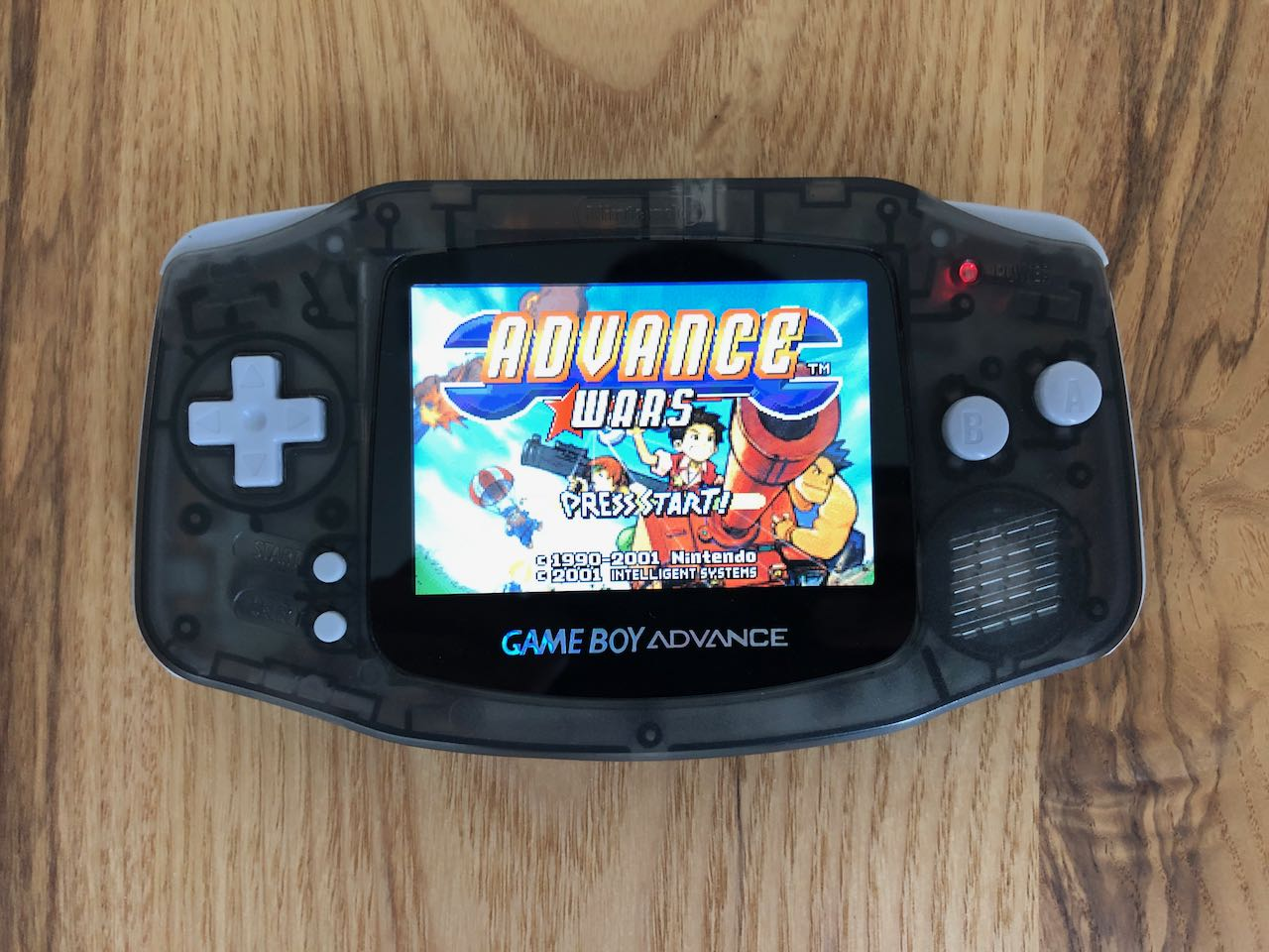 GameBoy Advance автора